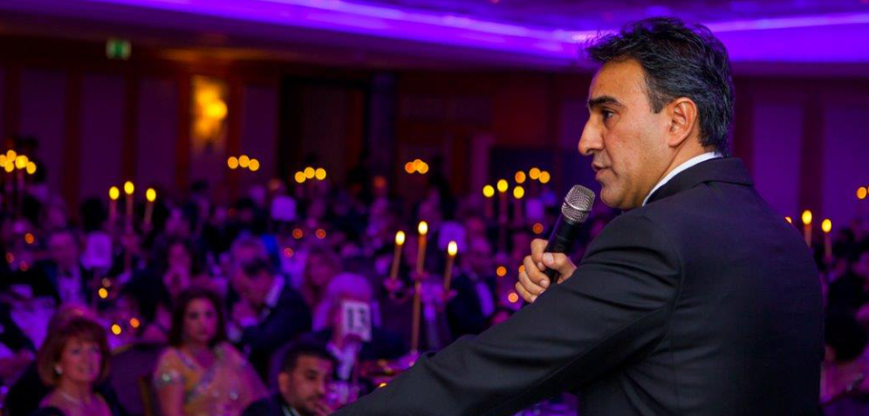 President, Jo Sidhu QC addressing the Ball - 2013