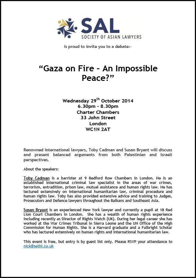 Gaza-debate