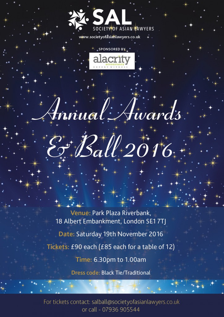 SAL Annual Awards 16